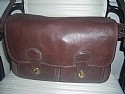 Coach Mahagony Leather Soft Briefcase Tote - Pre Owned Excellent Shape