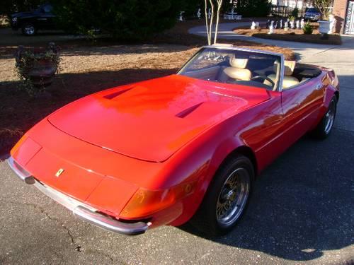 Ferrari Daytona Spyder Replica By Mcburnie Ronsusser Com