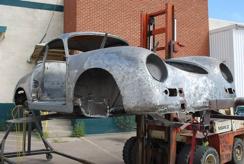1959 Porsche 356a Coupe Project Car Partially Restored