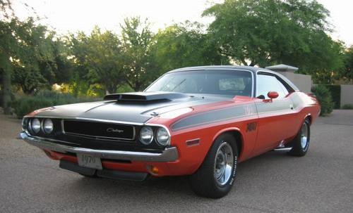 1970 dodge challenger owners manual