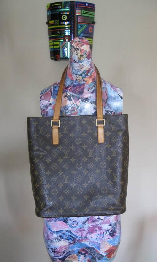 982cc35bc9d6 Louis Vuitton Authentic Monogram LV Vavin GM Tote Bag – RonSusser.com