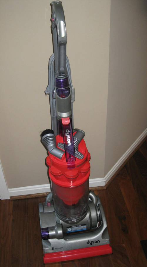 dyson dc14 low reach upright vacuum cleaner 459 retail. Black Bedroom Furniture Sets. Home Design Ideas
