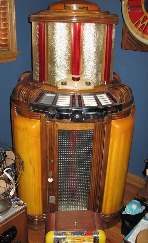 Seeburg Jukebox Pictures Rare Seeburg 8800 Jukebox