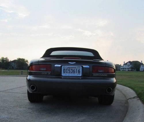 2000 Aston Martin DB7 Volante 6 Speed Convertible