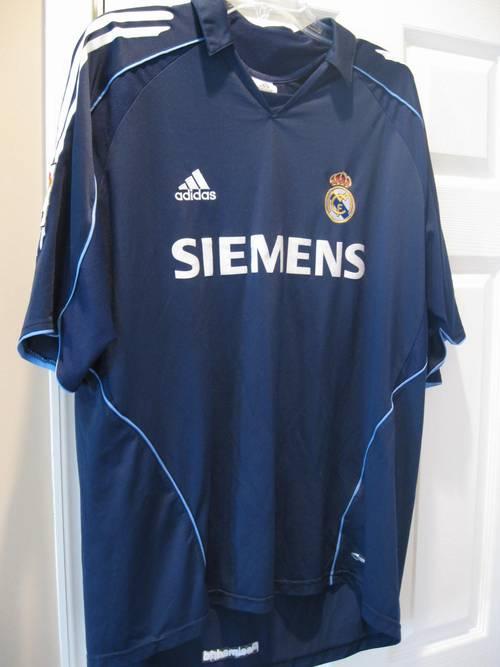 3ecf49a064e Adidas David Beckham Real Madrid Siemens #23 Jersey XL – RonSusser.com