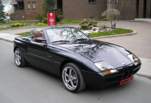 1989 bmw z1 very rare well maintained black beauty. Black Bedroom Furniture Sets. Home Design Ideas