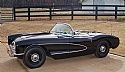 1957 Corvette Black Frame Off Restored Dual Quad 2 x 4 V-8