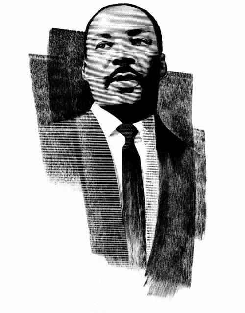 Mark Summers Original Scratchboard Martin Luther King Ronsusser Com
