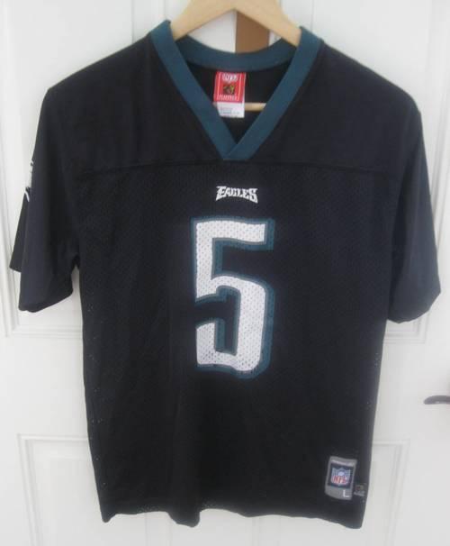 hot sale online b04d5 c62fb Donovan McNabb Philadelphia Eagles Youth NFL Jersey Large by ...