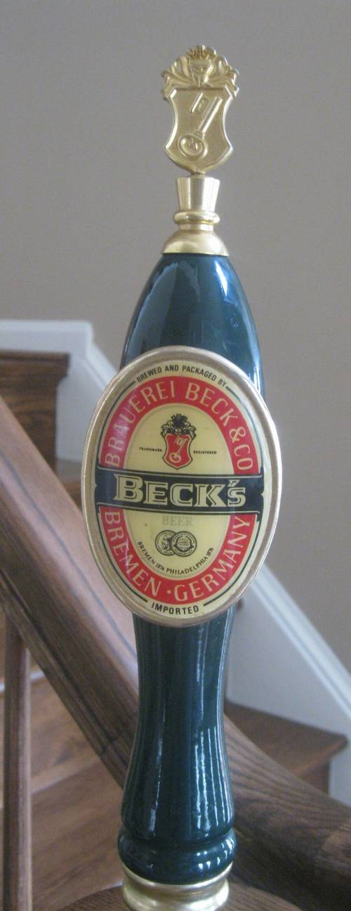 Beck S Beer Tap Handle Ronsusser Com