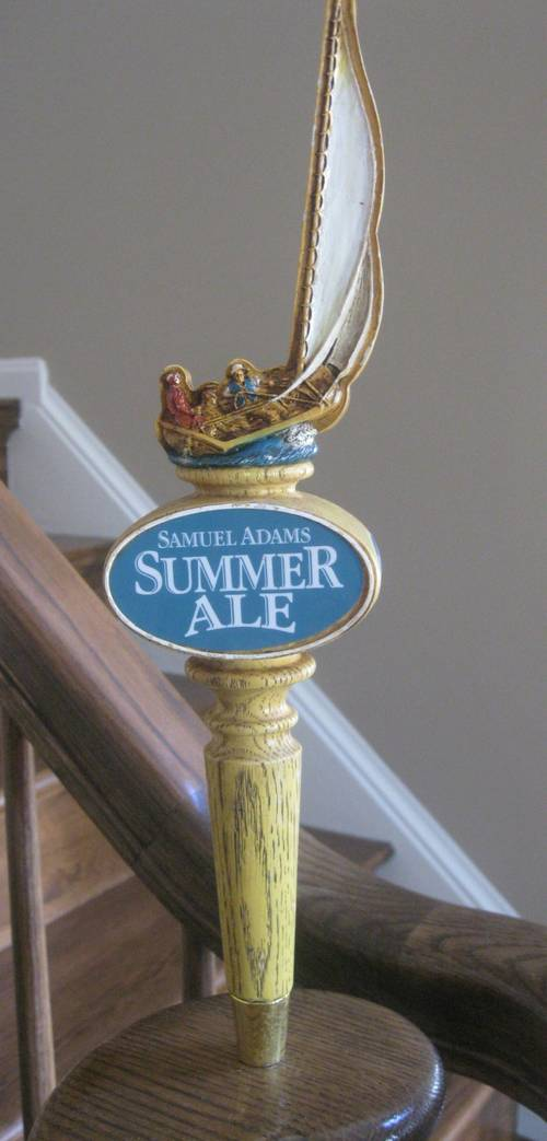Samuel Adams Summer Ale Sailboat Beer Tap Handle Truly