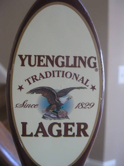 Yuengling Lager Beer Tap Handle – RonSusser.com