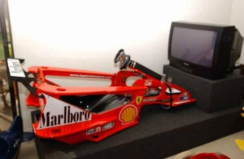 Homemade Car Racing Simulator
