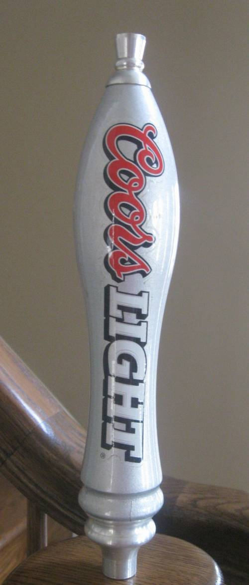 Coors Light Tap Handle Silver Bullet Ronsusser Com