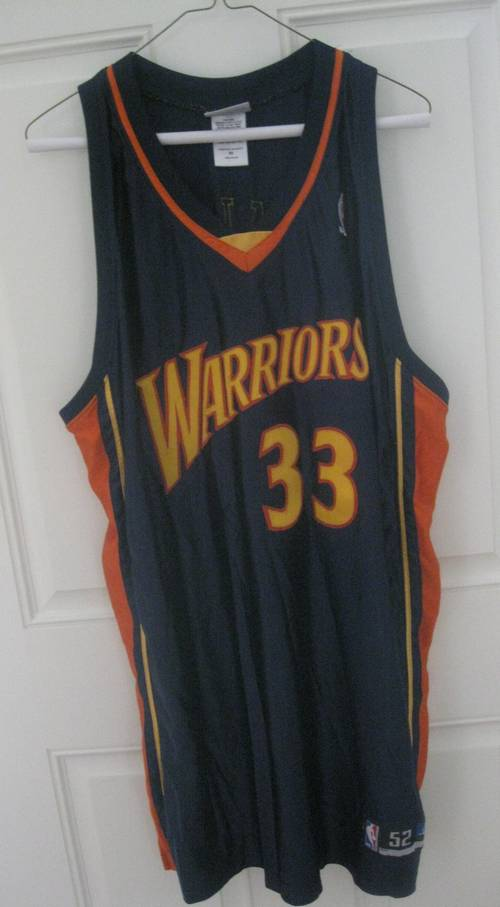 new concept cb932 4c644 Golden State Warriors Antawn Jamison Jersey Size 52 Reebok ...