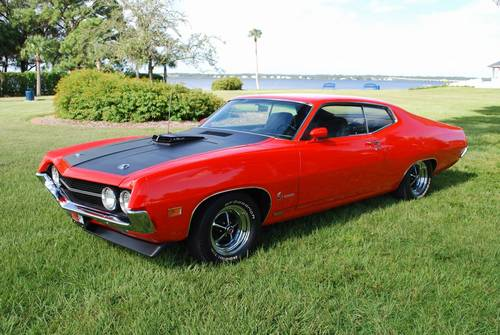 1970 Ford Torino Co 429 Ram Air 4 Speed Calypso Coral Magazine ...