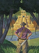 Murray Kimber Original Oil Painting ' Searching for El Dorado '