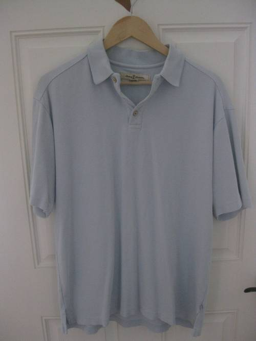 a432c023 I am pleased to offer this great Tommy Bahama knit polo shirt (RN 86549).  It is pre-owned, size medium and in excellent condition and made from 70%  silk and ...