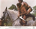 The Sword of the Barbarians Color Lobby Card # 2 1983
