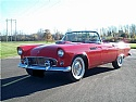 1955 Ford Thunderbird Red Restored and Gorgeous