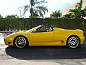 2004 Ferrari 360 Spyder Yellow 6 Speed 10K Miles Tubi