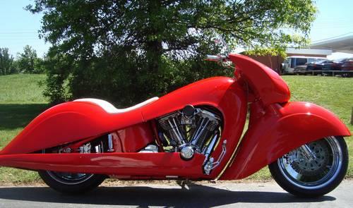 boyd coddington ron simms custom one of a kind prototype motorcycle. Black Bedroom Furniture Sets. Home Design Ideas