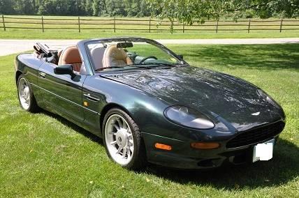 1997 Aston Martin Db7 Vantage Volante Lagonda Limited Convertible Ronsusser Com