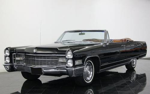 I Am Pleased To Offer This Gorgeous 1966 Cadillac 2 Door Eldorado Convertible