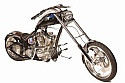 NFL Hall of Fame Chopper Knievel Cycles Signed by 43 HOF Members