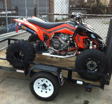 Available Today Is A 2008 Yamaha YFZ450 SE Special Edition ATV VIN JY4AJ35Y88C002413 Quad Comes With PA Title For An All Terrain Vehicle