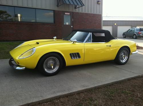 1961 ferrari 250 gt california spyder recreation by modena 6350 miles. Black Bedroom Furniture Sets. Home Design Ideas