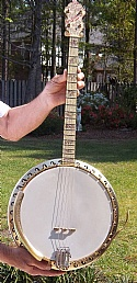 1935 Bacon & Day B & D Banjo Tenor 4 String 1935