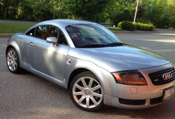 Audi TT Coupe ALMS Special Edition Avus Silver Over Red K - 2002 audi tt