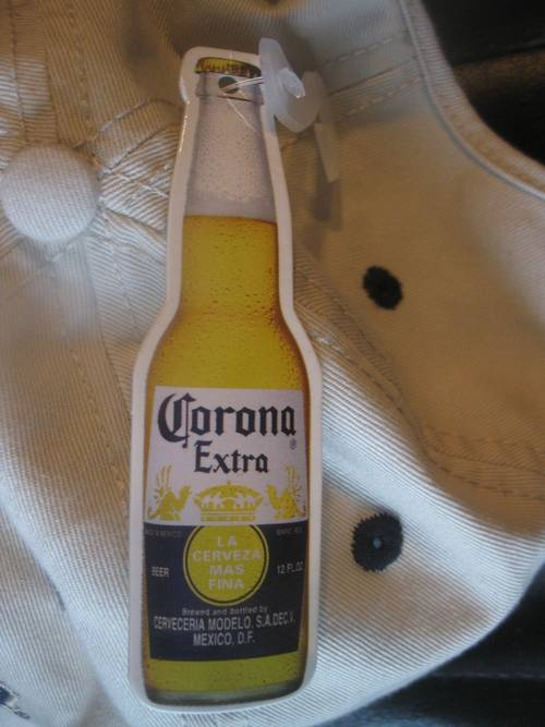 Corona Extra Logo Beer Hat Cap Brand New with Tags BNWT  25 Retail ... 7c6947ba5b19