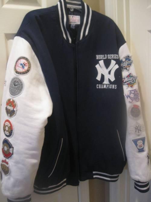 New York Yankees Mlb World Series Jacket Size Xxl Ronsusser Com