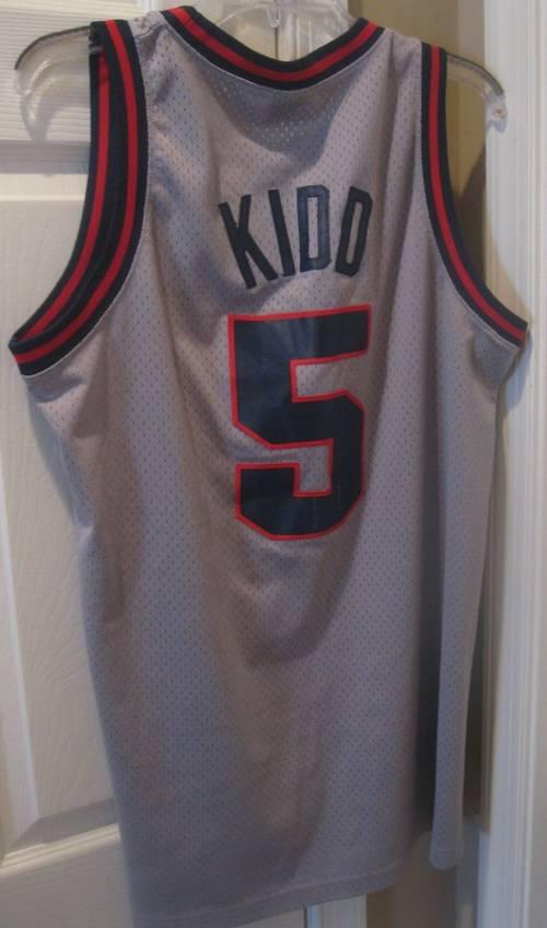 19640442c Jason Kidd Nike Team NBA  5 New Jersey Nets Jersey Medium ...