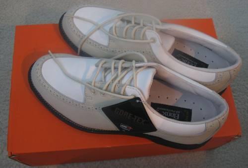 NIB Etonic Womens Stabilite turfgrips softspike Golf Shoes size 9w #8671