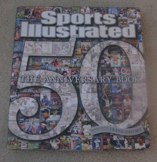 Sports Illustrated Cover Book ~ Sports illustrated th anniversary hard cover book with