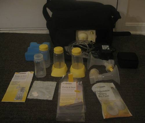 Medela Pump In Style Advanced Breast Pump New Condition With On The Go Tote Ronsusser Com
