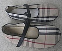 Burberry Childrens Shoes Size 33 Slippers Sandals