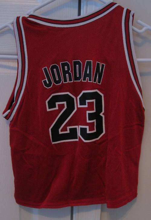 competitive price 92844 72216 NBA Chicago Bulls Michael Jordan #23 Replica Jersey Size ...