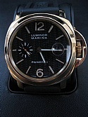 Panerai Pam 00140 Luminor Marina 18kt Yellow Gold 169/250 Carbon Fiber All Boxes and Papers