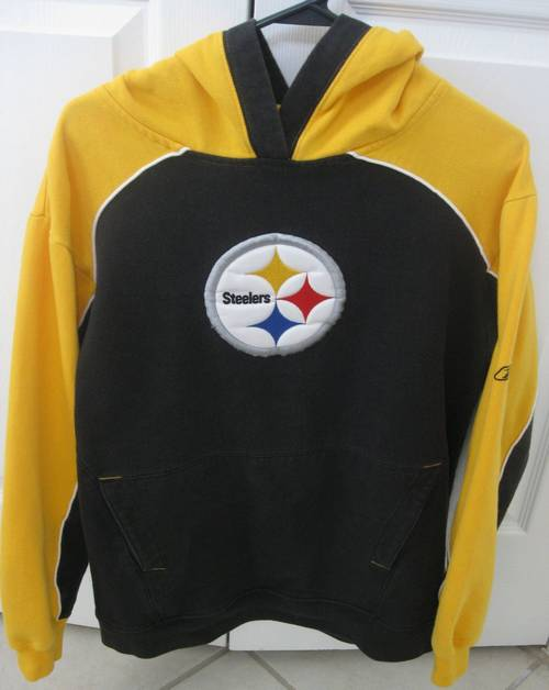 promo code 8185c 460ad Pittsburgh Steelers Reebok NFL Hoodie Youth XL (18-20 ...