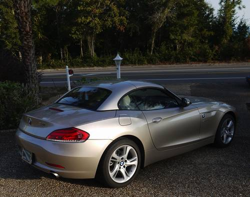 2012 Bmw Z4 Sdrive 35i 6 Speed Orion Silver High