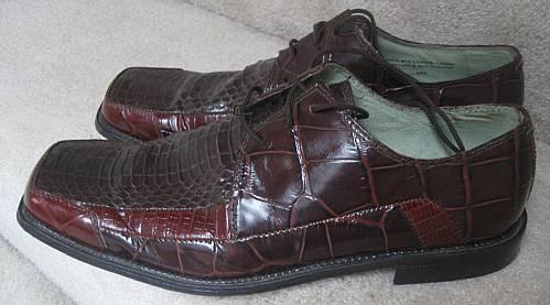 Mens Peacock Shoes