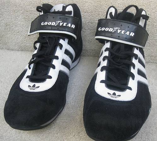 team adidas adi racer goodyear high top sneakers size 12. Black Bedroom Furniture Sets. Home Design Ideas