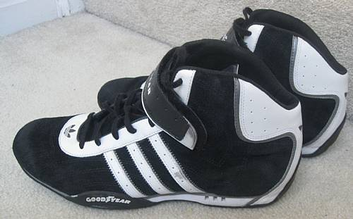 ac0b90f29a5 Team Adidas Adi Racer Goodyear High Top Sneakers Size 12 Trainers ...