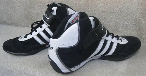 Team Adidas Adi Racer Goodyear High Top Sneakers Size 12