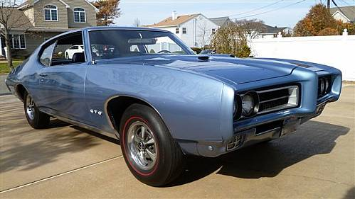 1969 Pontiac Gto S Matching 400 Motor 4 Speed Heavily