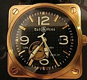 Bell & Ross BR01-97-R Pink Gold Limited Edition  Books, Boxes 149/250 Retail $26,000
